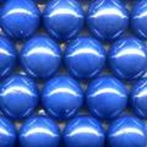Picture of M44  25MM Blue opal shiny glass marbles
