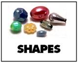 plastic beads shapes