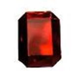 Glass Jewels - Octogon 18mm x 25mm