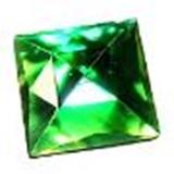 glass jewels square