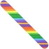 Nail FIles - Colorful Rainbow - fun bright multicolored many colored colors