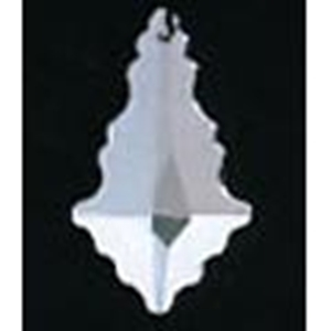 Picture of P8D  60mm x 40mm Crystal Leaf