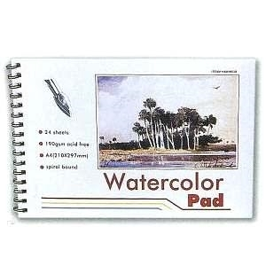 Picture of ART281  artist water color pad 7.5x10.5