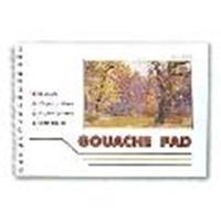 Picture of ART279  artist gouache pad 8.25x11.7