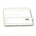 Picture of ART126  combination Receptacle and flat plastic palette, 12x5
