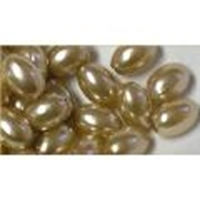 Picture of BD10V13  10mm brown oval shaped plastic beads