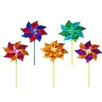 """Picture of WW100  Small PET Pinwheel 7.5"""" x 12"""" [C5D,D2A]"""