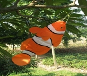 """Picture of WS100  Fish Windsock 17"""" x 28"""" [C5E]"""