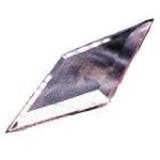 Glass Bevels Diamond Shaped