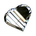 Glass Bevels Heart Shaped