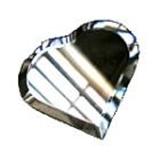 Glass Bevels Heart Shaped