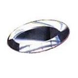 Glass Bevels Oval Shaped