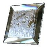 Glass Bevels Square & Rectangle Glue Chip