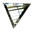 Glass Bevels - Triangle Shaped or Triangular Glass Bevels