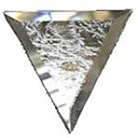 Glass Bevels Triangle Glue Chip