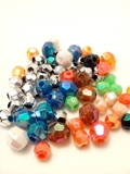 Plastic Beads – Faceted
