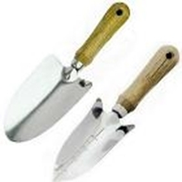 Picture of GARD22  garden trowel and transplanter set of 2