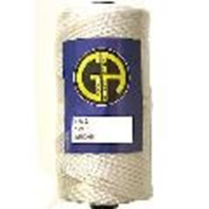 Picture of PFL10  length 365m or 1197ft, tenacity 30.5kg or 67.24lb test apprx, weight 200g. white polyester twine - kite & fishing line [A46,C8F]