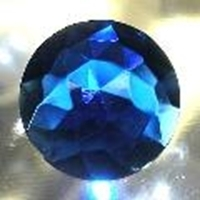 Picture of J25  20mm Blue round