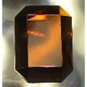 Picture of J31  25mm x 18mm Amber octagon