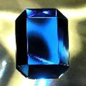 Picture of J33  25mm x 18mm Blue octagon OUT OF STOCK