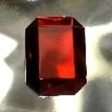 Picture of J35  25mm x 18mm Red octagon
