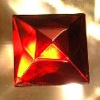 Picture of J84  18mm Red square OUT OF STOCK