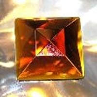 Picture of J66  30mm Amber square