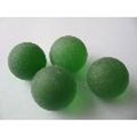 Picture of M246 25MM green frosted glass marbles
