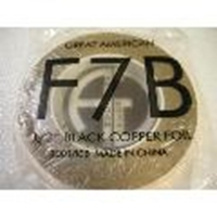 "Picture of FF7B  1/2"" x 100' Black Copper Foil 1.25 mil"