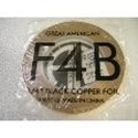 "Picture of FF4B  1/4"" x 100' Black Copper Foil 1.25 mil"