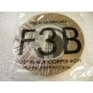"Picture of FF3B  7/32"" x 100' Black Copper Foil 1.25 mil"