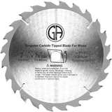 Saw Blades - Carbide - For Table, Circular and Chop Saws