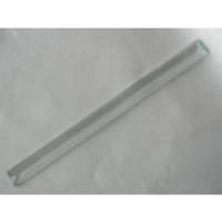 Picture of B7510 -  3/4 x 10 bevel with 3/8 inch bevel on 5mm. clear glass.