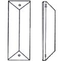 Picture of P23C  76x22 bar with 1 mounting hole