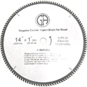 Picture of TCC4120  14-in. 120 Tooth - Tungsten Carbide Tipped Saw Blade Wood Cabinet