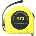 Picture of MT3  3m or 10 ft Retractable Measuring Tape Metric/inch