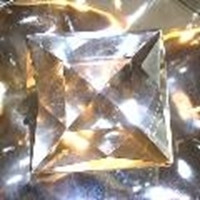 Picture of J58  50mm Clear square