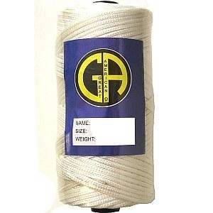 Picture of NBL3  Professional quality white nylon braided twine
