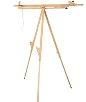 Picture of A7B Triangle Sketch Easel, ELM Wood