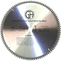 """Picture of TCP35 14"""" 100T Carbide Saw Blade for STEEL"""