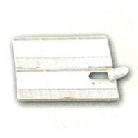 Picture of ART130  combination Receptacle and flat plastic palette, 8x4