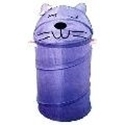 "Picture of HAMP2 Sleepy Cat Hamper, 15"" dia. x 31"" high, spring loaded"