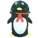 "Picture of HAMP5 Penguin Hamper, 15"" dia. x 31"" high, spring loaded"