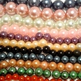 Plastic Beads - Opaque,Metallic,Necklaces,Faceted,Ovals,Flowers,Rice,Tubes,Cones