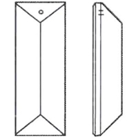 Picture of P23BC  76x22 bar with 1 mounting holes