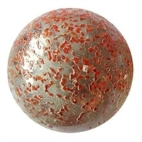 Picture of M266  2-in. Transparent Clear Rolled In Red Crushed Shiny Glass Marbles
