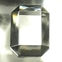 Picture of J30  25mm x 18mm Clear octagon