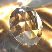 Picture of J44  30mm x 22mm Clear oval