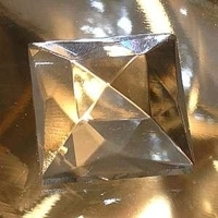 Picture of J72  25mm Clear square